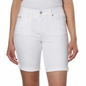 Calvin Klein Women's City Shorts 2 6 White